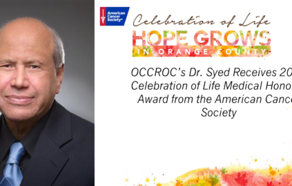 American Cancer Society Honors Dr. Syed at Gala