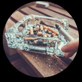 cigarettes circle
